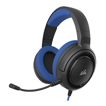 หูฟังเกมมิ่ง Corsair HS35 Stereo Gaming Headset (Blue)