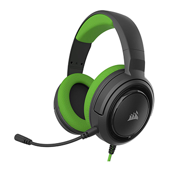หูฟังเกมมิ่ง Corsair HS35 Stereo Gaming Headset (Green)