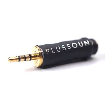 plusSound Micro Series Termination Adapter (3.5 to 2.5mm)