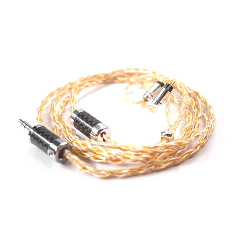 สายอัพเกรดหูฟัง Cryst Audio Hybrid 4X Upgrade Cable (2pin)