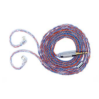 สายอัพเกรดหูฟัง CCA Cubic-Silver 8Core Cable Type C