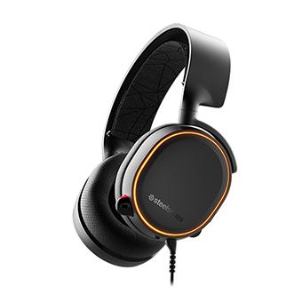 หูฟังเกมมิ่ง 7.1 SteelSeries Arctis 5 RGB 7.1 DTS Headphone (Black)