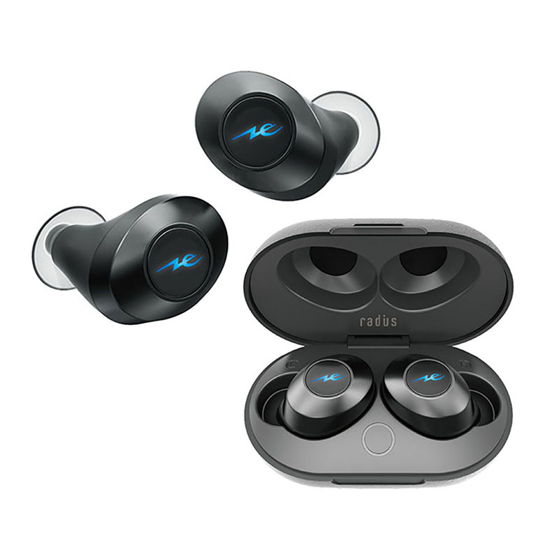 หูฟังไร้สาย Radius HP-T50BT True Wireless Earphone Bluetooth 5.0 IPX5 (Black)