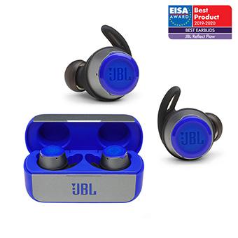 หูฟังไร้สาย ออกกำลังกาย JBL Reflect Flow Truly Wireless Sport in-Ear Headphone (Blue)