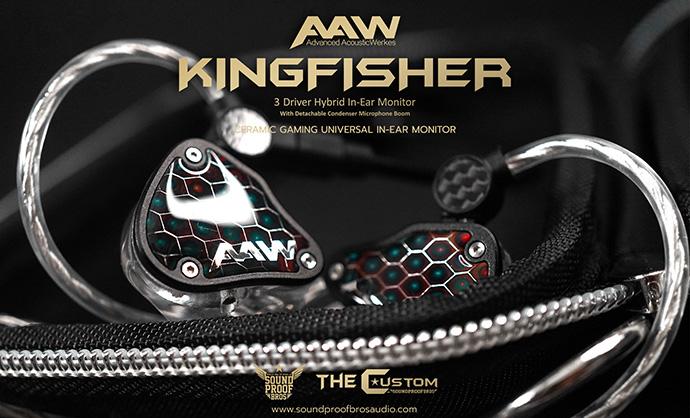 พรีวิว ใหม่ล่าสุด หูฟังเล่นเกม Gaming in-ear สุด Premium AAW KINGFISHER จากแบรนด์ดัง AAW ในราคาที่จับต้องได้