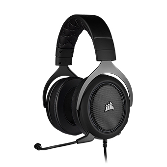 หูฟังเล่นเกม Corsair HS60 PRO SURROUND Gaming Headset (Carbon)