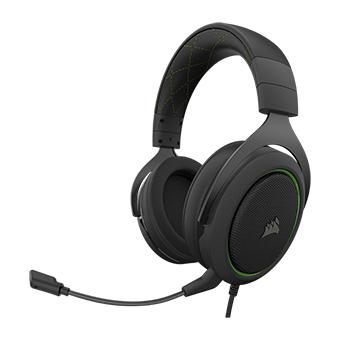 หูฟังเล่นเกม Corsair HS50 PRO STEREO Gaming Headset (Green)