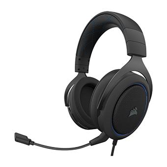 หูฟังเล่นเกม Corsair HS50 PRO STEREO Gaming Headset (Blue)