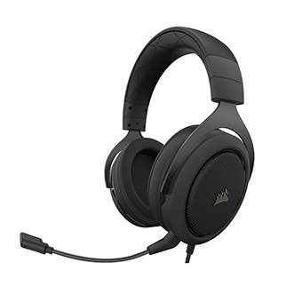 หูฟังเล่นเกม Corsair HS50 PRO STEREO Gaming Headset (Carbon)