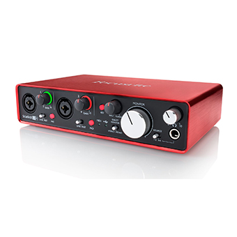 Focusrite Scarlett 2i4 (2nd Gen)