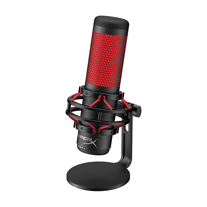 ไมโครโฟน USB HyperX QuadCast USB Condenser Gaming Microphone, for PC, PS4 and Mac