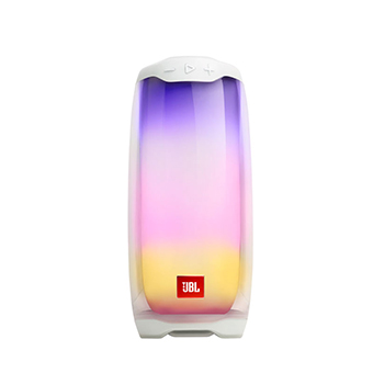 ลำโพงไร้สาย JBL Pulse 4 Portable Bluetooth Speaker (White)
