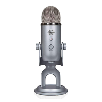ไมโครโฟน Blue Yeti The ultimate professional USB microphone (Silver)