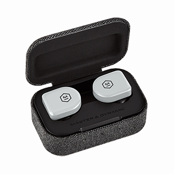 หูฟังไร้สาย Master & Dynamic MW07 GO True Wireless Earphones (Stone Grey)