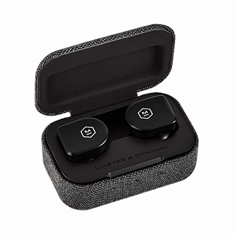หูฟังไร้สาย Master & Dynamic MW07 GO True Wireless Earphones (Jet Black)
