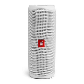 ลำโพงไร้สาย Bluetooth JBL FLIP 5 Portable Waterproof Speaker (White)