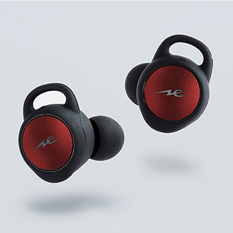 หูฟังไร้สาย Radius HP-T100BT True Wireless Earphone (Red)