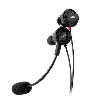 หูฟังเกมมิ่ง NSMO Nismo JR Dual-driver Gaming In-ear Headset by ADV.
