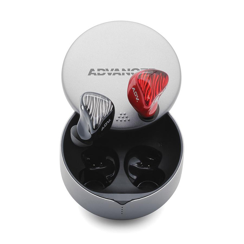หูฟังไร้สาย ADV M5-TWS The pinnacle of true wireless earbuds (Accent Red)