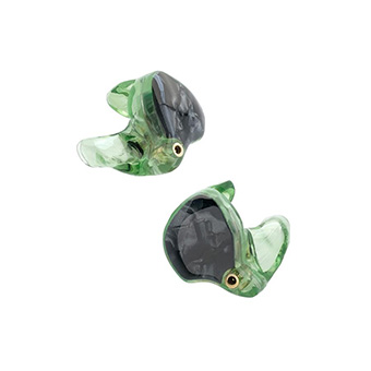 หูฟังคัสต้อมไร้สาย True Wireless CIEM ADV M5-TWS CUSTOM 3D-printed Custom True Wireless Earbuds (Green Ash)