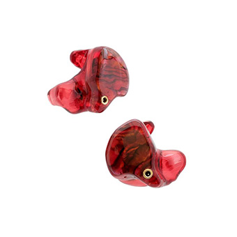 หูฟังคัสต้อมไร้สาย True Wireless CIEM ADV M5-TWS CUSTOM 3D-printed Custom True Wireless Earbuds (Red Pearl)