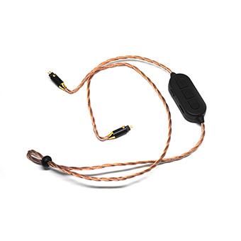 สายอัพเกรดหูฟังไร้สาย Bluetooth plusSound X6 BT Custom Bluetooth Cable