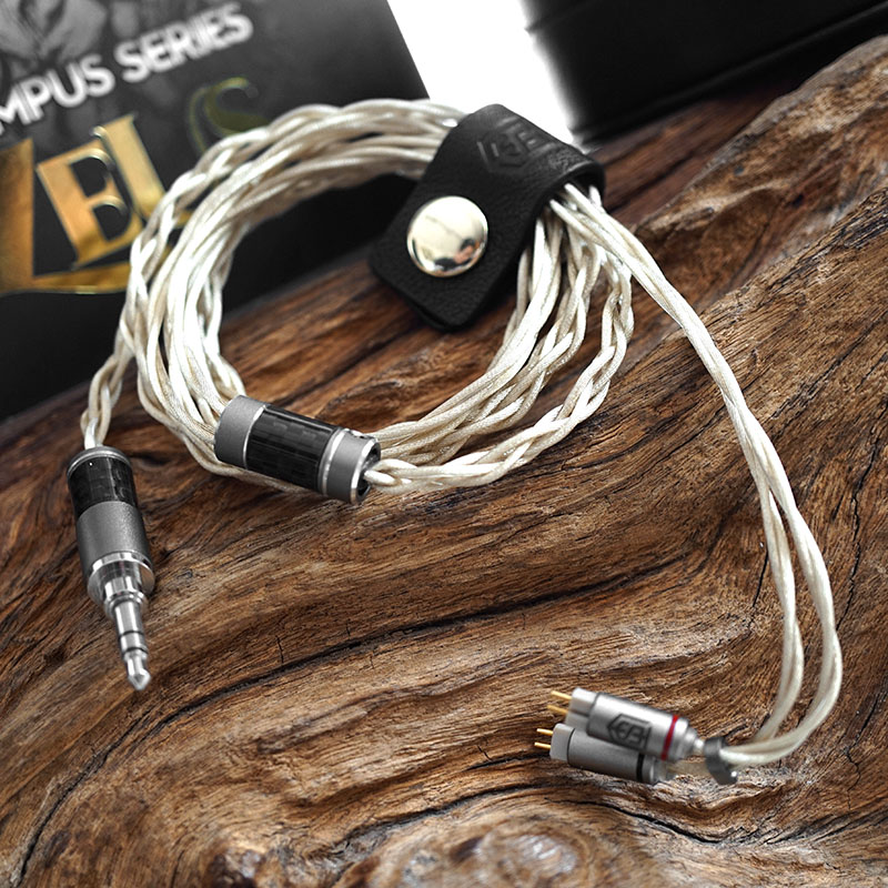สายอัพเกรดหูฟัง Satin Audio ZEUS Gold Plated Silver | Palladium Plated Silver | Silver-Gold Alloy (2 Pin)