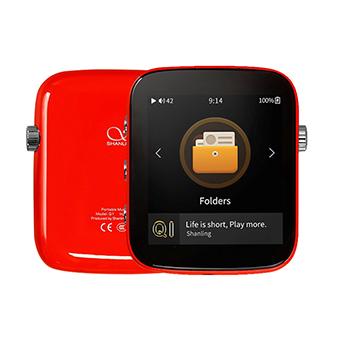 เครื่องเล่นเพลง Shanling Q1 รองรับ Two-Way Bluetooth aptX LDAC Hi-Res (Fire Red)