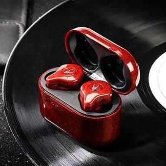 หูฟังไร้สาย Sabbat E12 Ultra Glitter Series (Neon Red)