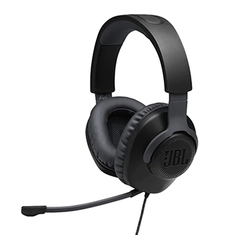 หูฟังเกม JBL Quantum 100 Wired over-ear gaming headset with a detachable mic
