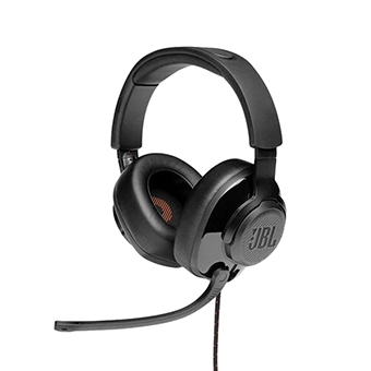 หูฟังเกม JBL Quantum 200 Wired over-ear gaming headset with flip-up mic