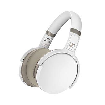 หูฟังไร้สายตัดเสียงรบกวน Sennheiser HD 450BT Wireless Headphone with Active Noise Cancellation (White)