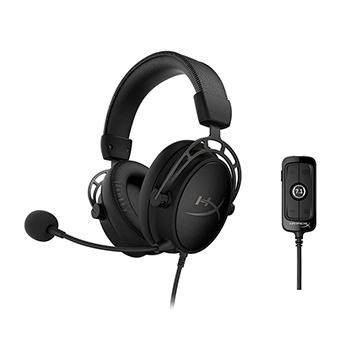หูฟังเกม HyperX Cloud Alpha S Gaming Headset (Black)