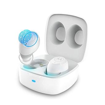 หูฟังไร้สาย MOTOROLA VerveBuds 100 True Wireless Earbuds (White)