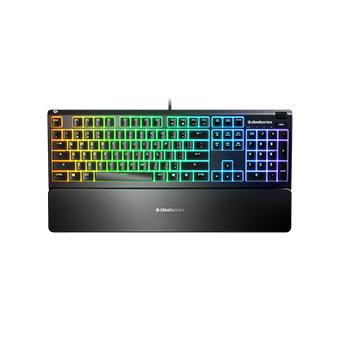 คีย์บอร์ด Steelseries APEX 3 Water resistant gaming keyboard (คีย์ไทย)