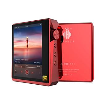 เครื่องเล่นเพลง DAP Hidizs AP80 Pro Dual DAC Chips (Red)