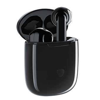 หูฟังไร้สาย SOUNDPEATS Trueair Wireless Earbuds with Charging Case, Bluetooth 5.0 (Black)