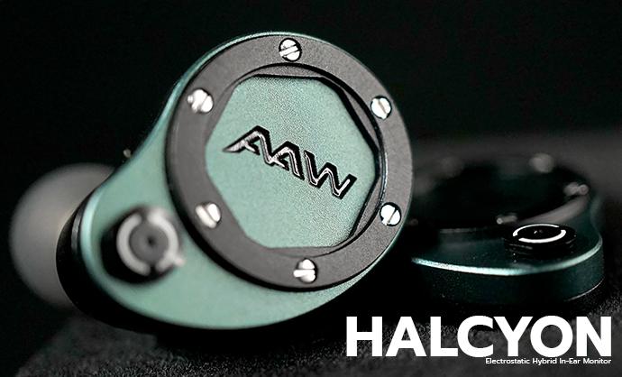 AAW Halcyon Electrostatic Hybrid In-Ear Monitor หูฟังรุ่นใหม่ล่าสุดจาก AAW มีที่เมืองไทยแล้วนะครับผม DEMO มีพร้อมสำหรับทุกท่าน