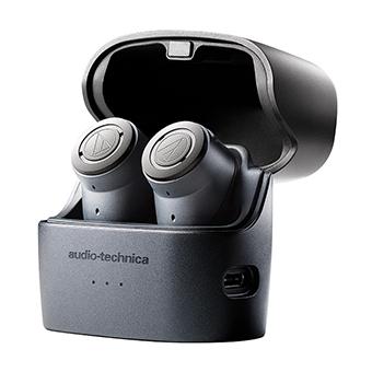 หูฟังไร้สายตัดเสียงรบกวน Audio-Technica ATH-ANC300TW Active Noise-Cancelling In-Ear Headphones