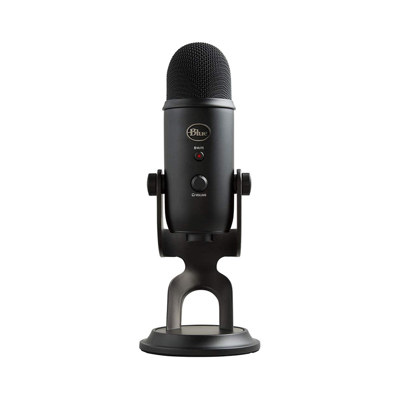 ไมโครโฟน Blue Yeti Studio Blackout The ultimate professional USB microphone (แถม Software)