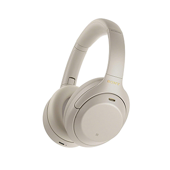หูฟังไร้สาย Sony WH-1000XM4 Wireless Noise-Canceling Headphones (Silver)