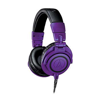 หูฟัง Audio Technica ATH-M50x Purple Black Limited Edition