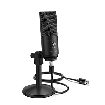 ไมโครโฟน FIFINE K670B USB MICROPHONE FOR STREAMING PODCASTING (Black)