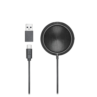 Audio technica ATR4697-USB Omnidirectional Condenser Boundary Microphone