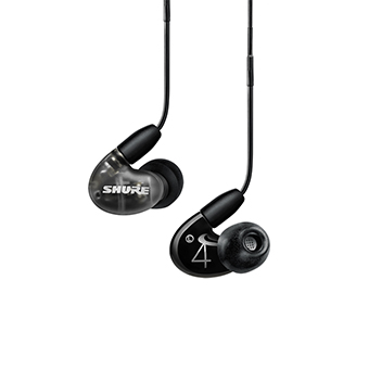 หูฟัง Shure AONIC 4 Sound DUAL-DRIVER HYBRID EARPHONE (Black)