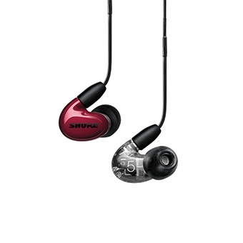 หูฟัง Shure AONIC 5 Sound Isolating™ Earphones (Red)