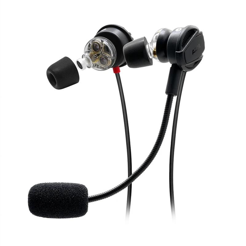 หูฟังเกม 3 ไดร์เวอร์ ADV. NISMO 3D Triple-driver Gaming In-ear Headset