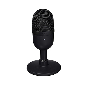 USB ไมโครโฟน Razer Seiren Mini Ultra-compact Streaming Microphone (Black)