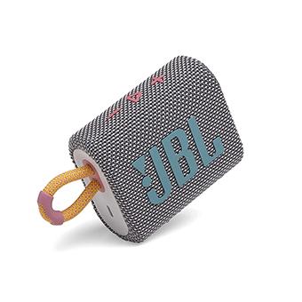 ลำโพงพกพา JBL GO 3 Portable Waterproof Speaker (Gray/Pink)