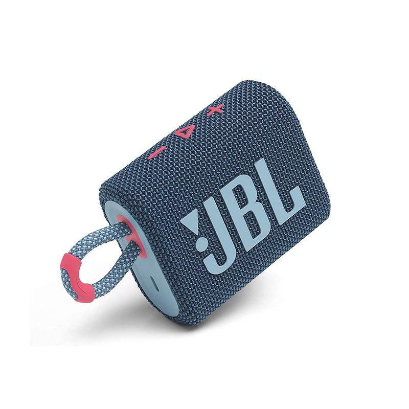 ลำโพงพกพา JBL GO 3 Portable Waterproof Speaker (Blue/Pink)